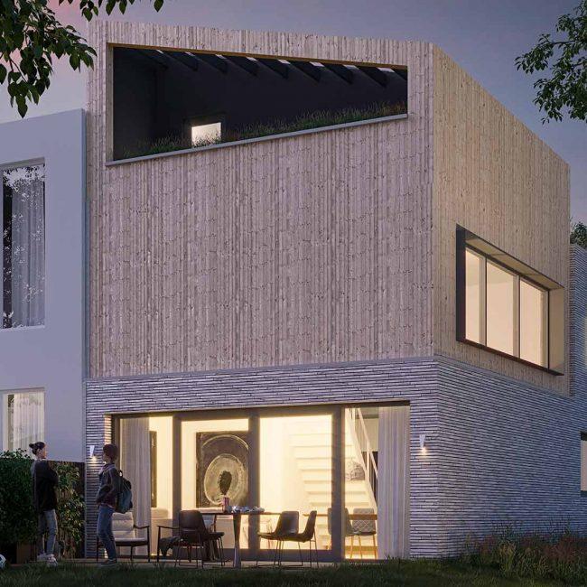 Architect Den Haag zelfbouw kavel