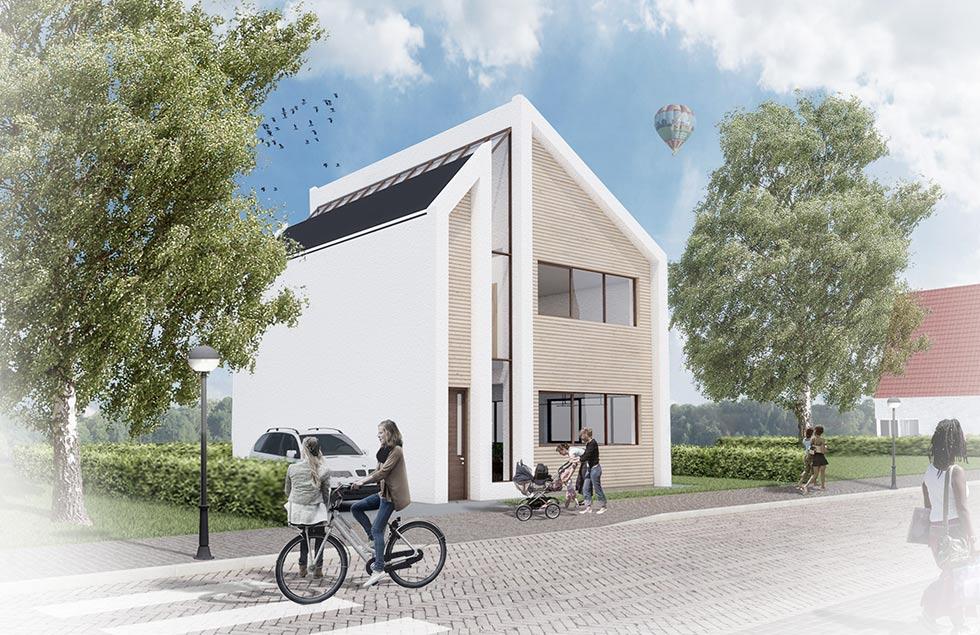 Nugter Architectuur Zelfbouw villa