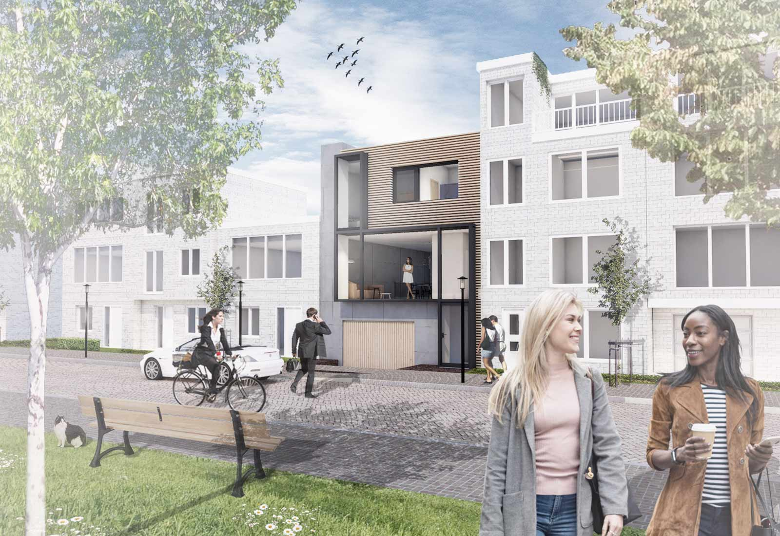 Architect Den Haag Zelfbouw woning 18