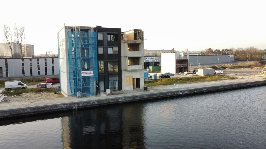 Architect Den Haag - Nieuwbouw woning Petroleumhaven