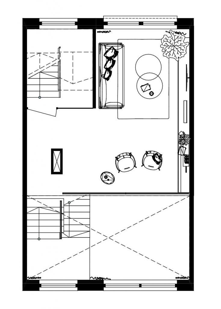 Architect Den Haag-kavelwoning-ontwerp-01