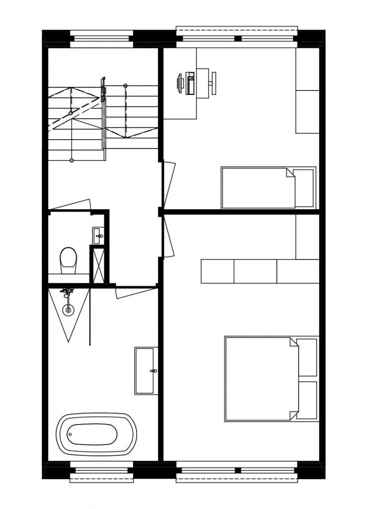 Architect Den Haag-kavelwoning-ontwerp-02