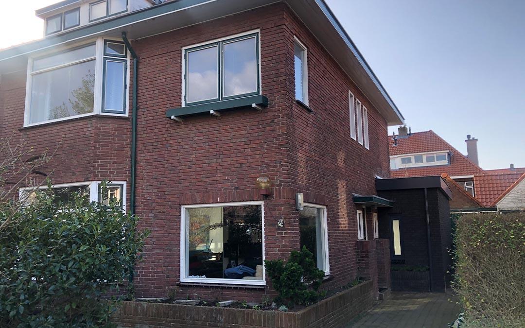 uitbouw architect Voorburg Den Haag straatbeeld