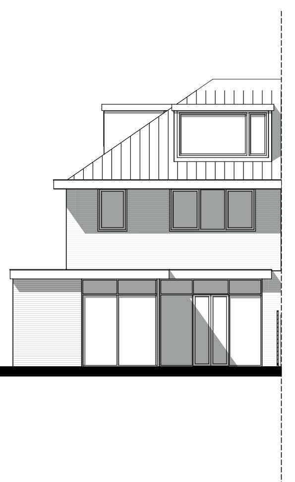 uitbouw architect Voorburg gevel aanzicht Den Haag