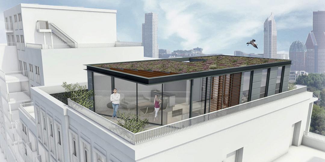 Nugter Architectuur dakopbouw scheveningen