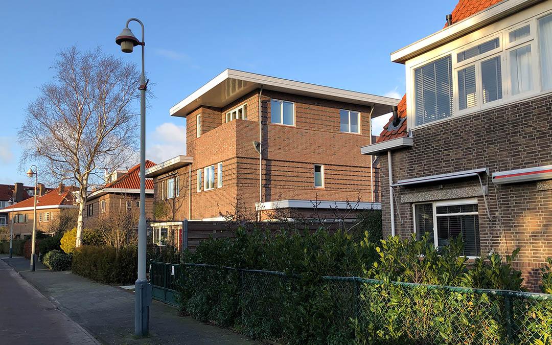 nugter-architectuur-dakopbouw den haag vogelwijk kauwlaan