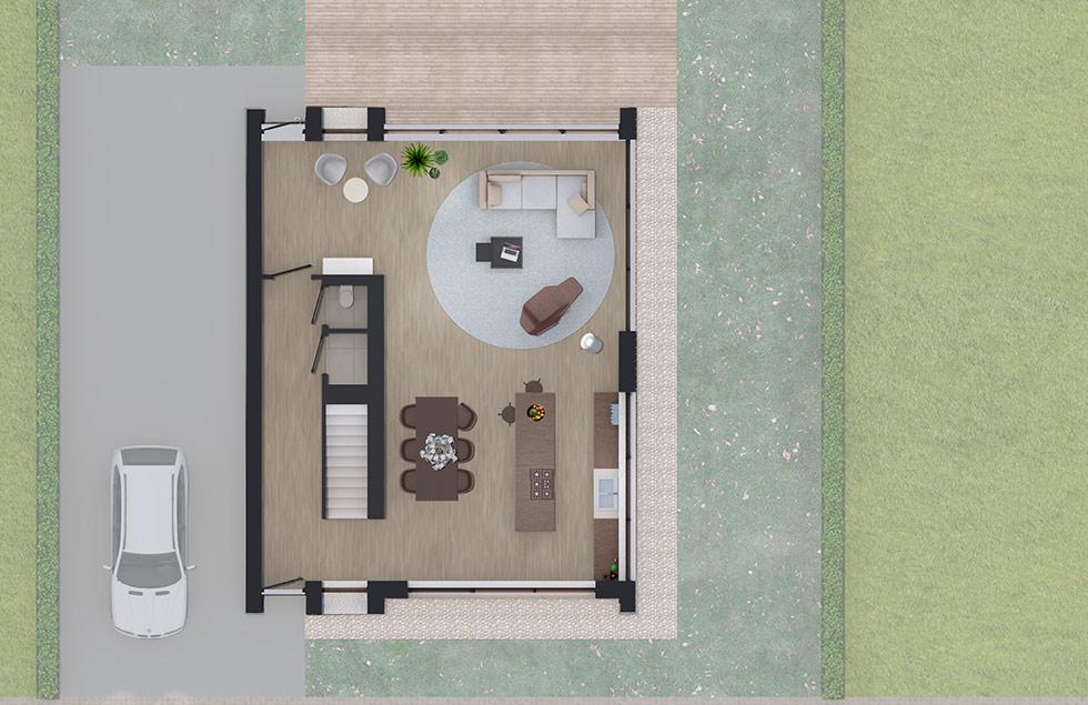 Architect Den Haag zelfbouw villa BG