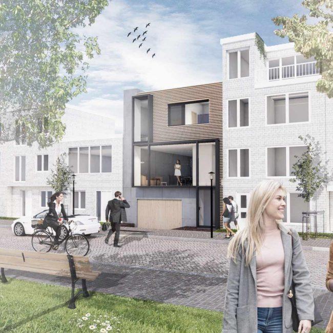Architect Den Haag zelfbouw woning gevel