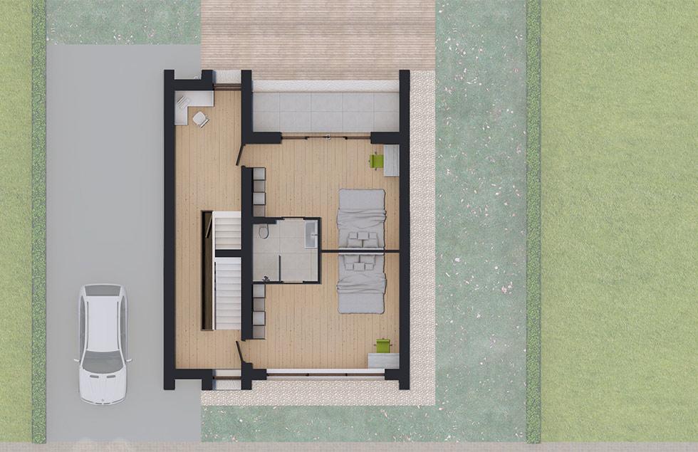 Architect Den Haag zelfbouw villa 01