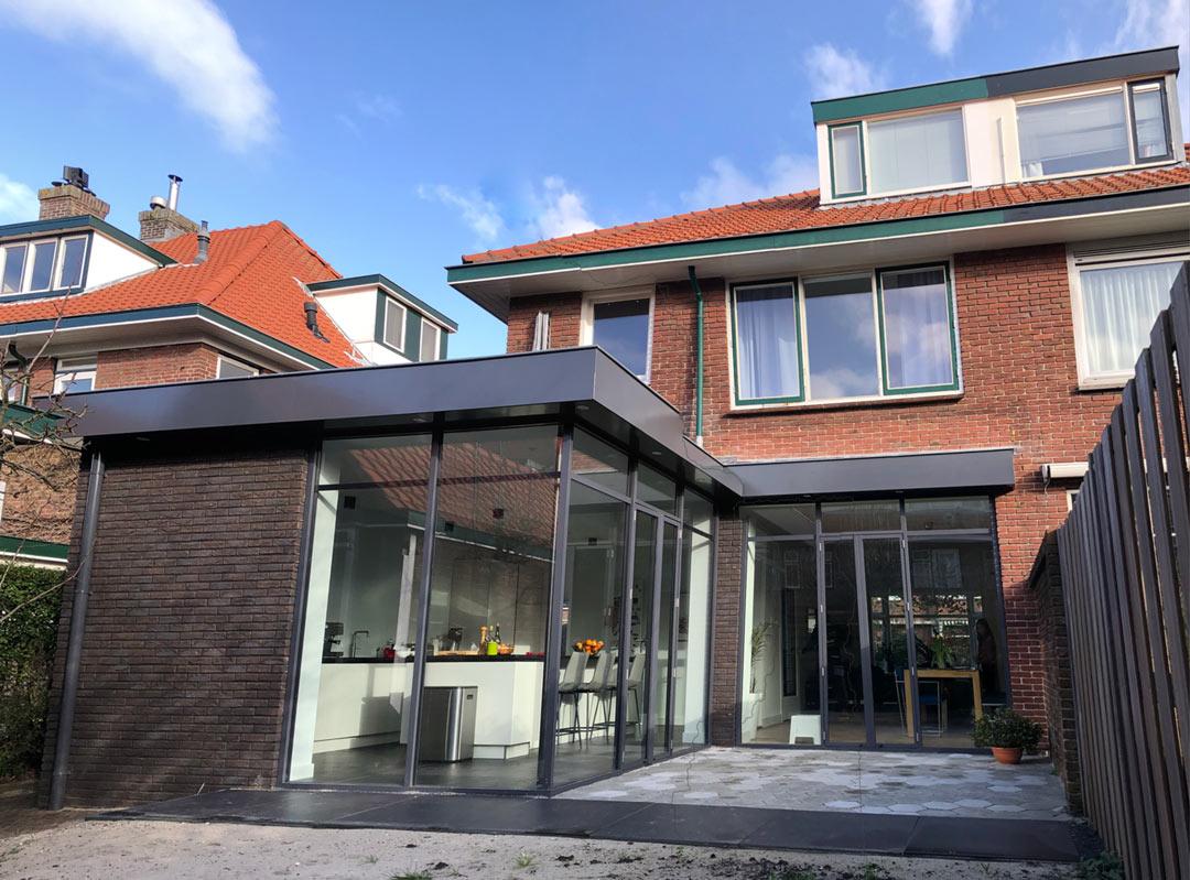 uitbouw architect Voorburg Den Haag