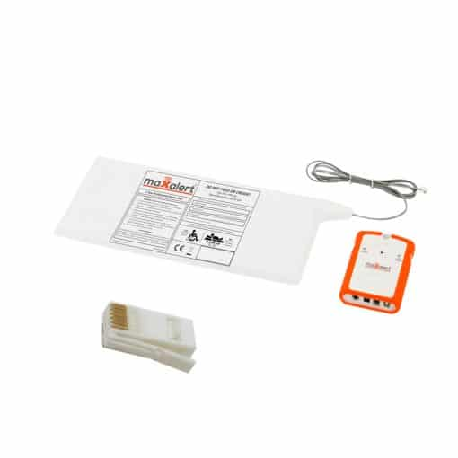 Aid Call Chair Sensor Mat and Monitor Kit – White BT Type Plug