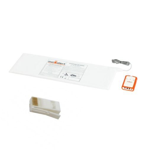 Aid Call Bed Sensor Mat and Monitor Kit – White BT Type Plug