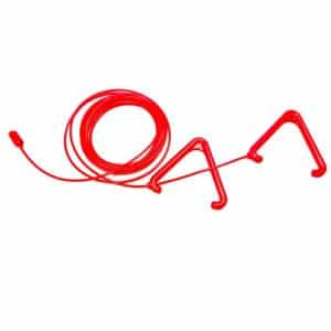 Antibacterial Pull Cords Set with Red Triangles