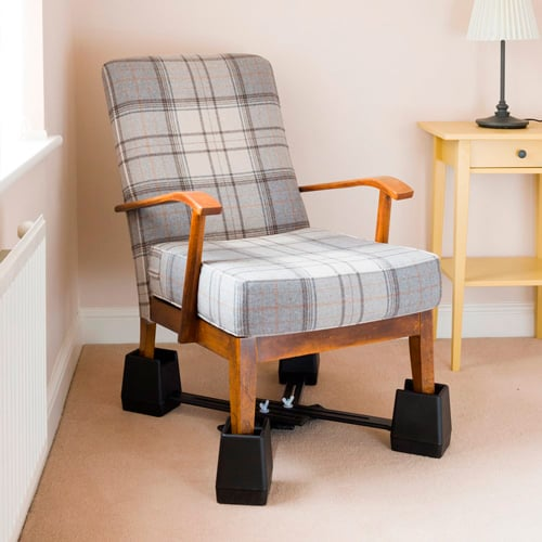 Adjustable Linked Chair Raiser