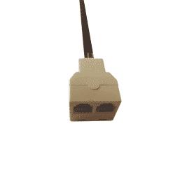 Aidcall Double Adaptor / Splitter