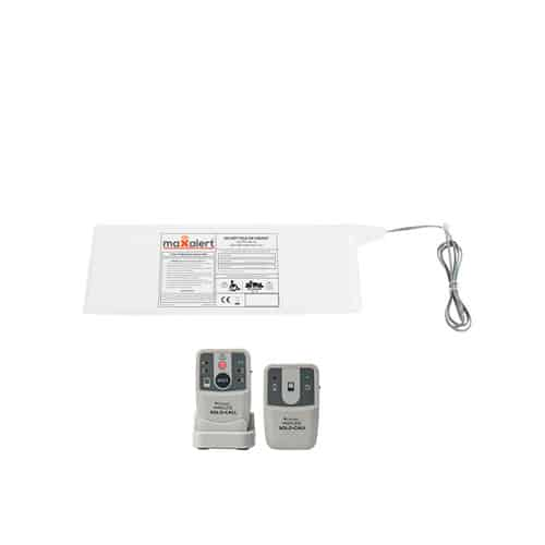 Chair Sensor Mat with Solo Call Pager & Transmitter Alarm Kit