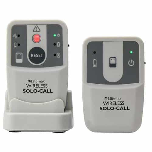 Floor Sensor Mat with Solo Call Pager and Transmitter Alarm