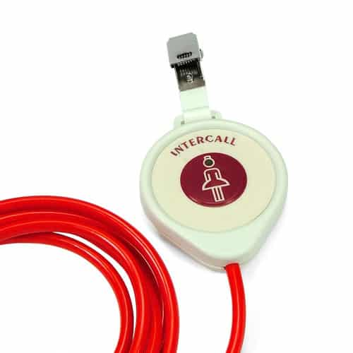 Intercall Pear Push Nurse Call Wander Lead NP2 – 2m