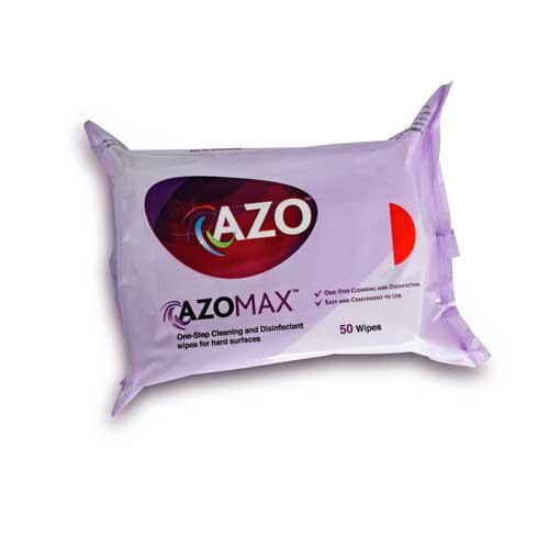 Azo™ Universal (Azomax) Disinfectant Wipes – 50pk