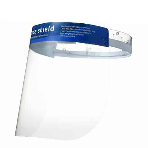 Full Face Shield Visor – 100pk