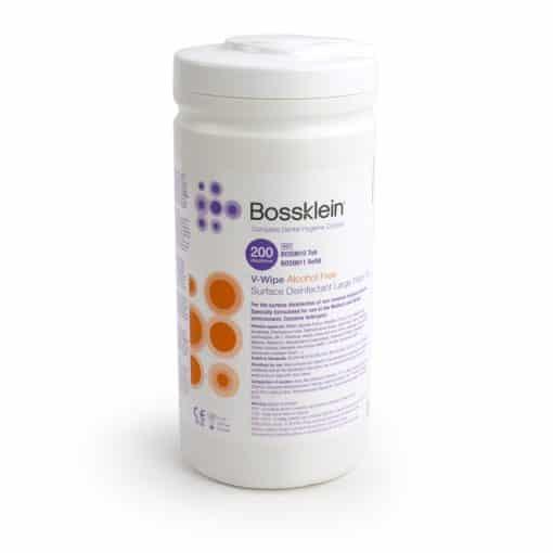 Bossklein V-Wipes – 200pk Tubes