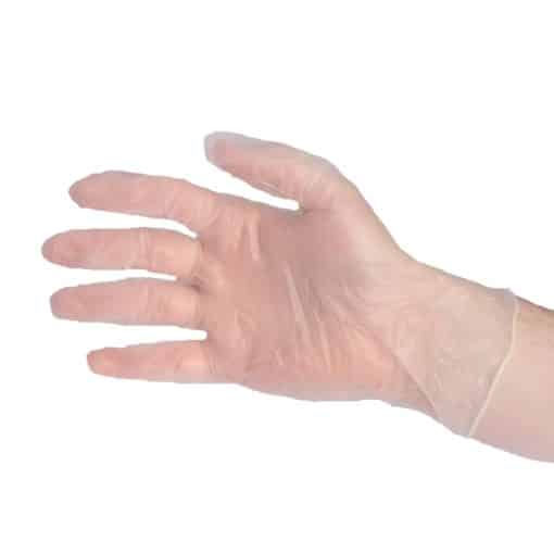 Vinyl Gloves Powder Free – 100pk – Medium