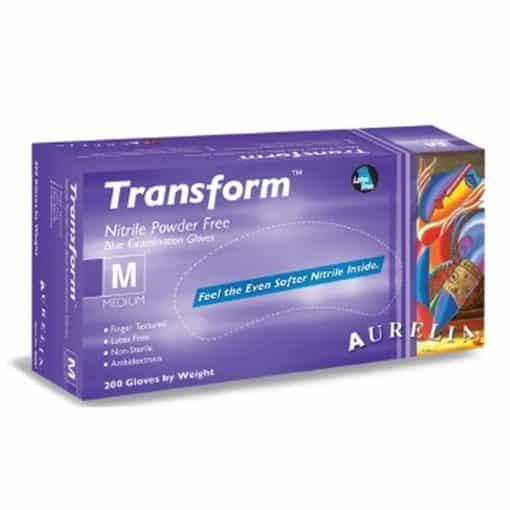 Aurelia Transform Nitrile Gloves – Powder Free – 100pk – Medium