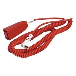 C-Tec Nursecall 800 Coiled Tail Call Lead 1.2-3.6m (4-12ft)