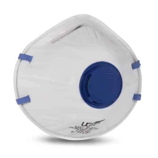 Cupped P2 Disposable FFP2 Mask with Valve