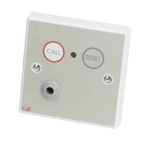 C-Tec / Nursecall 800 Emergency Infrared Call Point, Button Reset c/w Remote Socket – NC802DERB