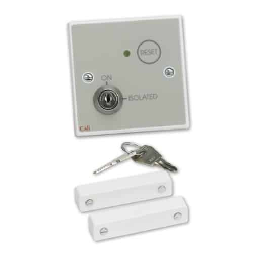 C-Tec / Nursecall 800 Isolatable Monitoring Point, Button Reset