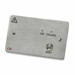 C-Tec Stainless Steel Single Zone Call Controller c/w 12V PSU