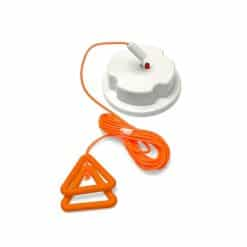 Nursecall Ceiling Pull Switch with Wipe Clean Cord & Re-assurance Light