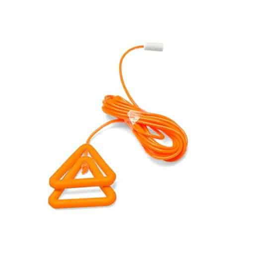 Orange Wipe Clean Pull Cord String & Triangle Set