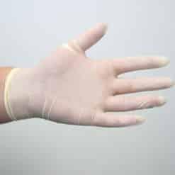 Latex Gloves – Powder Free – 100pk – Medium