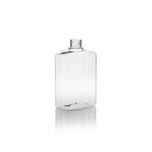 500ml Empty Pump Bottle – Clear – 10 pack