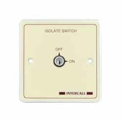 Intercall Heavy Duty Key Switch Isolator
