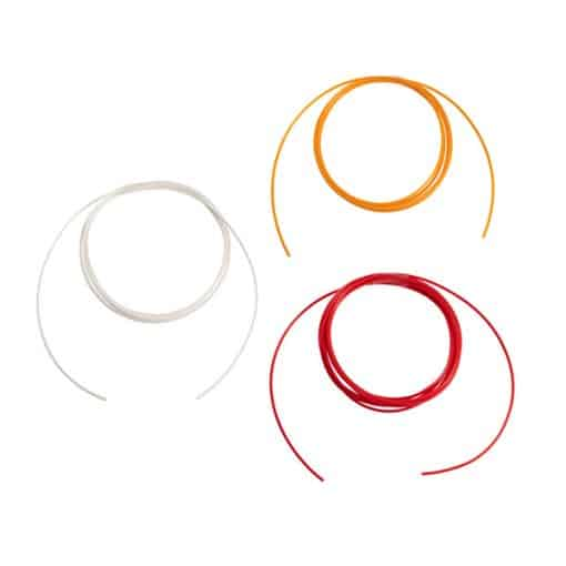 Antibacterial / Antimicrobial Pull Cord – Wipe Clean – 1.5m & 3m Options – Red / Orange / White