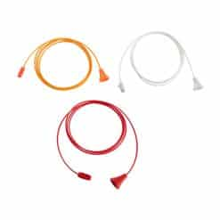 Antibacterial Pull Cord with Acorn & Connector Set – Antimicrobial Wipe Clean – 1.5m