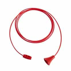 Anti Ligature Pull Cord with Acorn & Connector Set – Antibacterial / Antimicrobial Wipe Clean – 1.5m