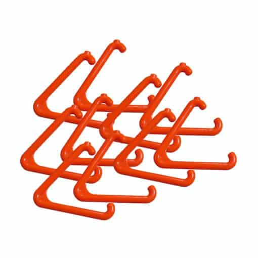 Orange Replacement Triangle for Alarm Pull Cord System – 10 Pack