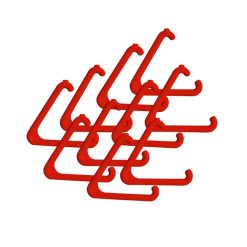 Red Replacement Triangle for Alarm Pull Cord System – 10 Pack