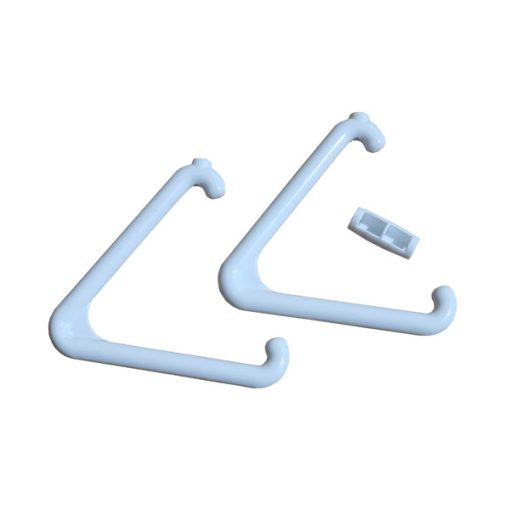 White Triangle & Connector Set – For Emergency & Alarm Pull Cord Systems