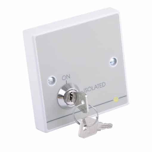 Quantec PIR Power Interface c/w Isolating Keyswitch