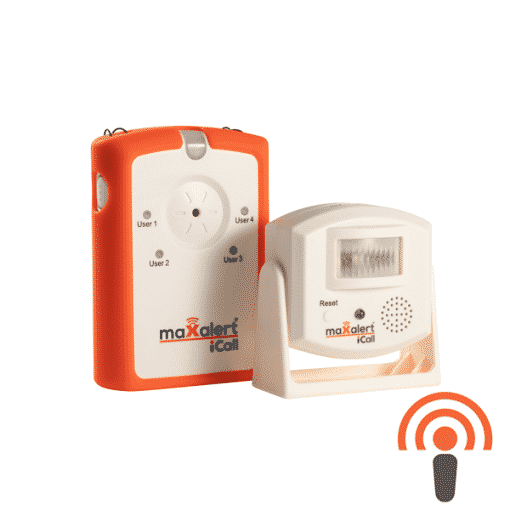 iCall Wireless PIR Motion Detector & Receiver Kit