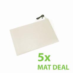 Max+ Heavy Duty Anti-Bacterial Pressure Floor Sensor Mat – 5x MAT DEAL