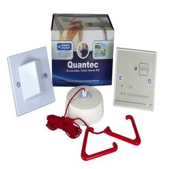 Quantec Disabled Persons Toilet Alarm Kit