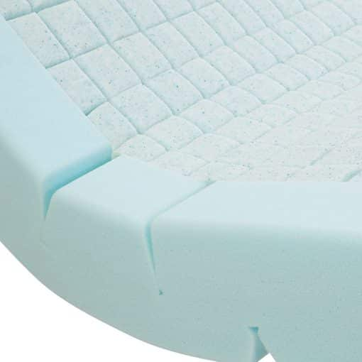 Sensaflex 4000 Gel Topped Foam Mattress