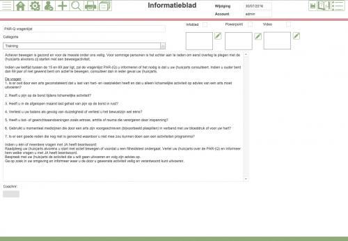informatieblad