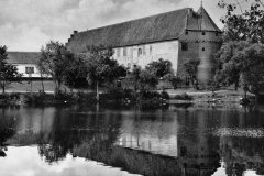 Nyborg Slot set fra Slotssøen